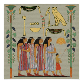 Ancient Egyptian People Poster