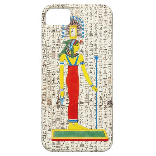 Ancient Egyptian Pharaoh Hieroglyphics Design iPhone 5 Case
