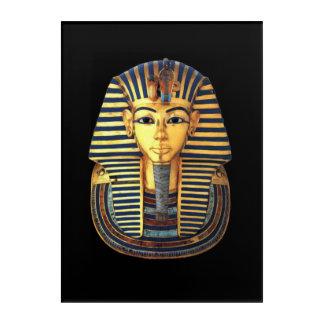 Ancient Egyptian Pharaoh Tutankhamun Gold Mask Acrylic Print