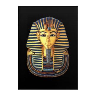 Ancient Egyptian Pharaoh Tutankhamun Gold Mask Acrylic Wall Art