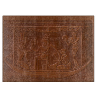 Ancient Egyptian Pharaoh's Barge Cutting Board