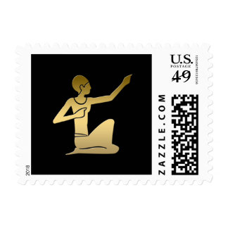 Ancient Egyptian pointing figure Postage