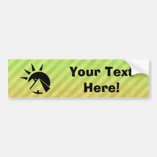 Ancient Egyptian Pyramid Car Bumper Sticker