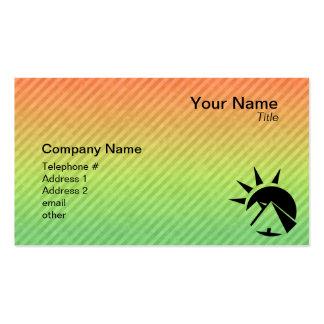 Ancient Egyptian Pyramid Business Card