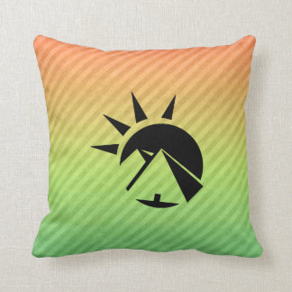 Ancient Egyptian Pyramid Throw Pillow