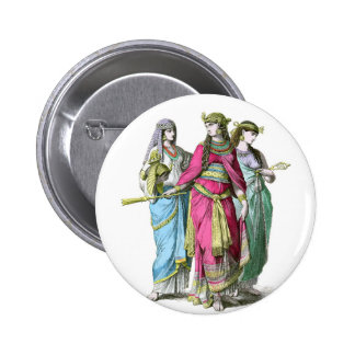 Ancient Egyptian Queen Cleopatra Pinback Button