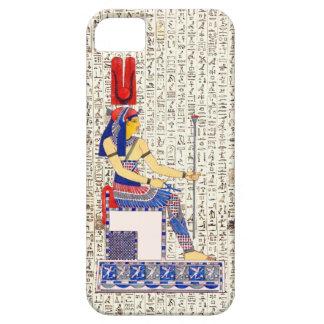 Ancient Egyptian Queen Hieroglyphics Design iPhone SE/5/5s Case