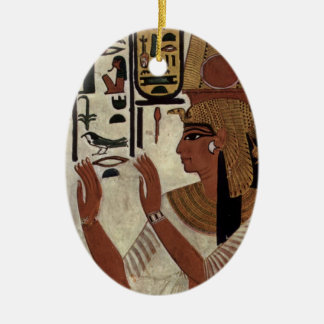 Ancient Egyptian Queen [Nefertari] Ceramic Ornament