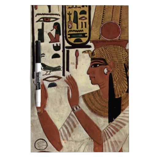 Ancient Egyptian Queen [Nefertari] Dry Erase Boards