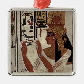Ancient Egyptian Queen [Nefertari] Metal Ornament