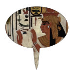 Ancient Egyptian Queen [Nefertari] Oval Cake Picks
