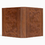 Ancient Egyptian Scene Antique Leather Binder
