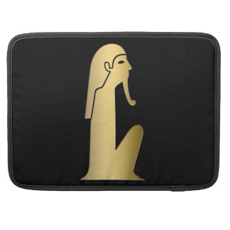 Ancient Egyptian seated figure Sleeve For MacBook Pro