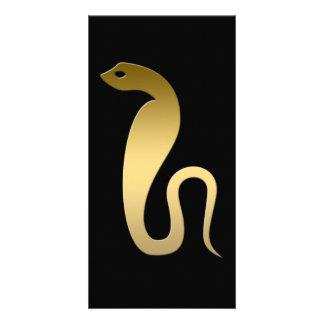 Ancient Egyptian snake – goddess Renenutet Card