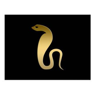 Ancient Egyptian snake – goddess Renenutet Postcard