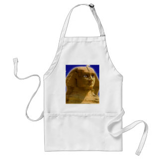 Ancient Egyptian Sphinx at Giza Art Design Adult Apron