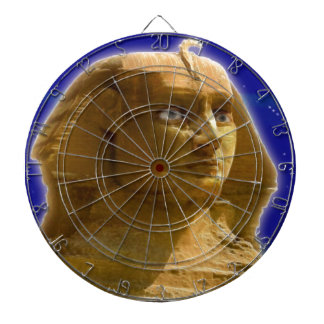 Ancient Egyptian Sphinx at Giza Art Design Dart Board