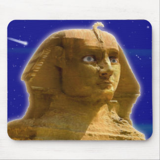 Ancient Egyptian Sphinx at Giza Art Design Mousepads