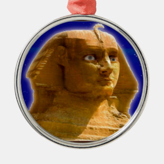 Ancient Egyptian Sphinx at Giza Art Design Christmas Tree Ornament
