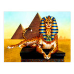 Ancient Egyptian Sphinx Postcards