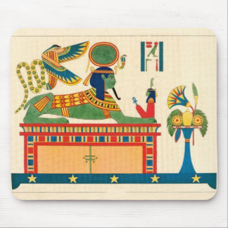 Ancient Egyptian symbols and Egyptian Art  Gifts Mousepad