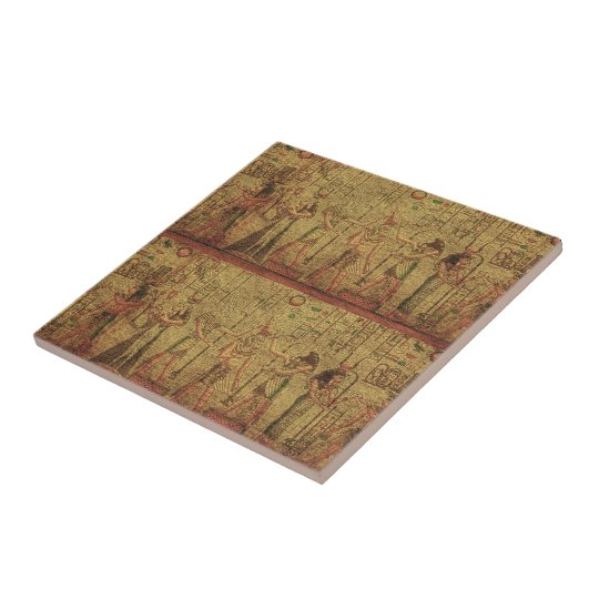 Ancient Egyptian Temple Wall Art Ceramic Tile Zazzle Com