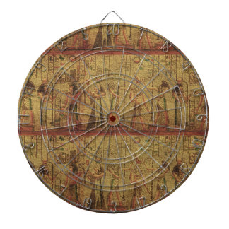 Ancient Egyptian Temple Wall Art Dart Boards