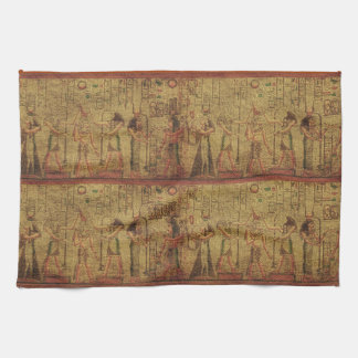 Ancient Egyptian Temple Wall Art Hand Towel