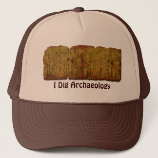 Ancient Egyptian Temple Wall Art Trucker Hat