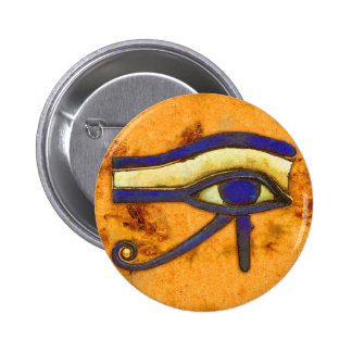 Ancient Egyptian The Eye of Horus 2 Inch Round Button