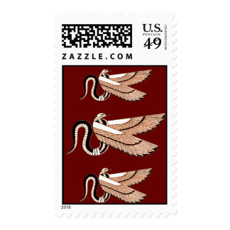 Ancient Egyptian Winged Serpent Postage
