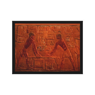Ancient Egyptian Workers Historic Art Print