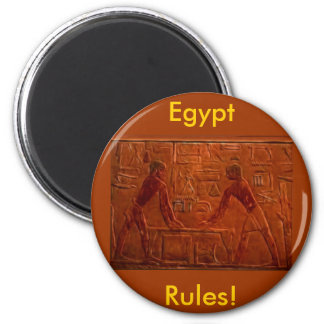 ANCIENT EGYPTIANS at Sanding Table Art 2 Inch Round Magnet