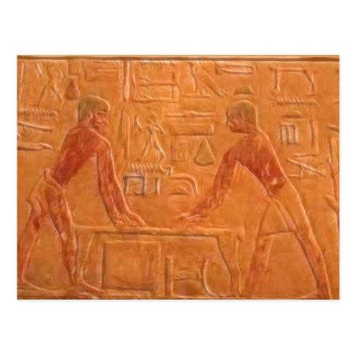 ANCIENT EGYPTIANS POSTCARD