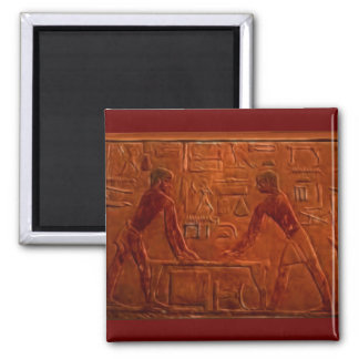 ANCIENT EGYPTIANS Wall Relief Art Magnet