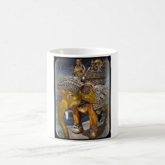ANCIENT ELEPHANT STATUE COFFEE MUG