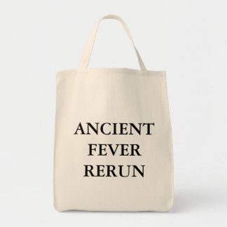 ANCIENT FEVER RERUN TOTE BAGS
