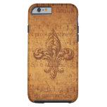 Ancient Fleur De Lis iPhone 6 Case