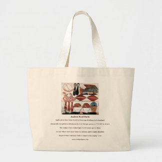 Ancient Food Facts Jumbo Tote