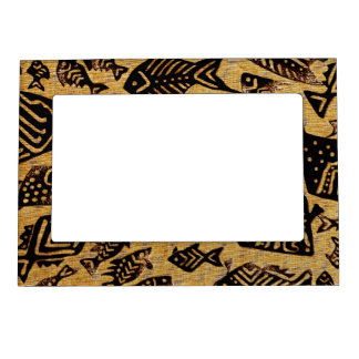 Ancient Fossil Fish Magnetic Photo Frame