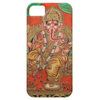 ANCIENT GANESH HAND PAINTINING iPhone 5 COVER