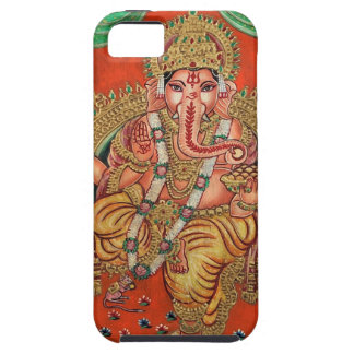 ANCIENT GANESH HAND PAINTINING iPhone 5 CASES