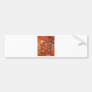 ANCIENT GANESH PAINTING BUMPER STICKER