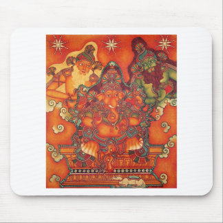 ANCIENT GANESH PAINTING MOUSE PAD