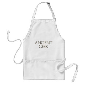Ancient Geek Adult Apron