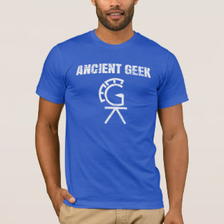 Ancient Geek Puzzle T-Shirt