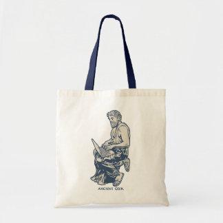Ancient Geek Tote Bag