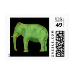 Ancient Gold and Jade Elephant Stamp