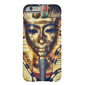 Ancient Gold Egyptian Pharaoh Mural Barely There iPhone 6 Case