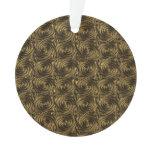 Ancient Golden Celtic Spiral Knots Pattern Ornament